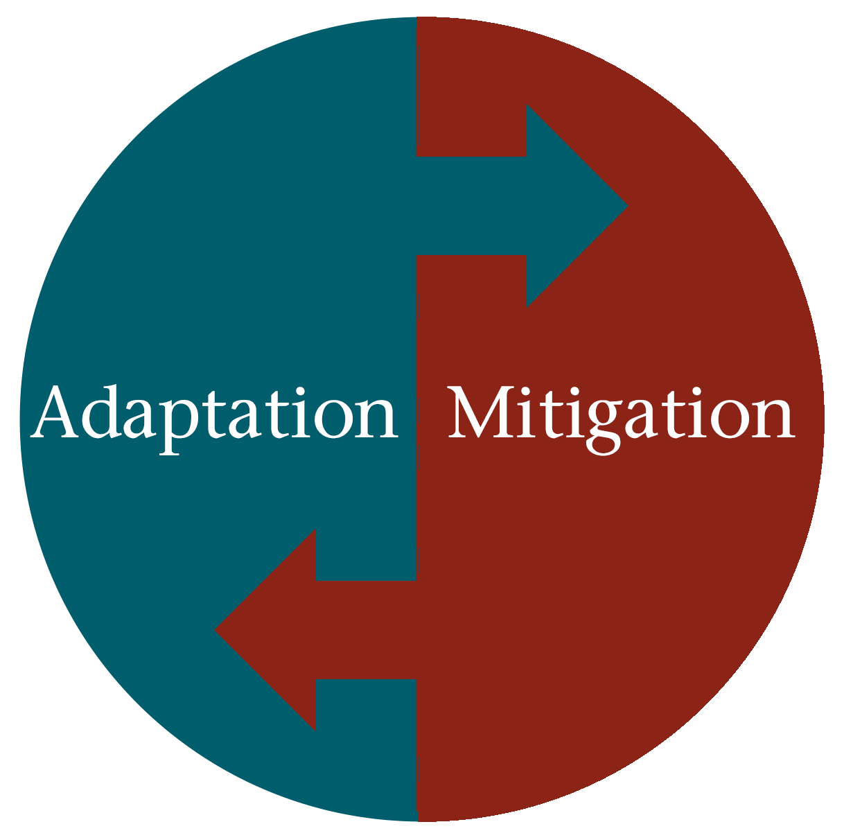 mitigation adaptation circle